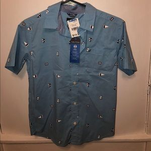 Boys  size 10/12 short sleeve Nautica shirt